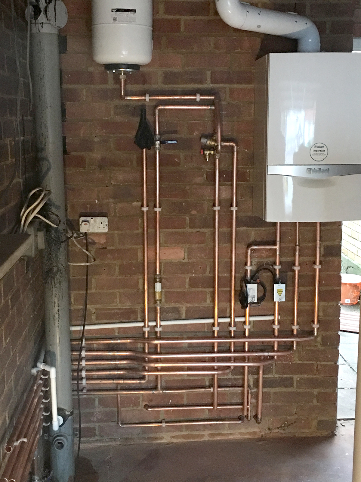Mega Flow Unvented Heating System Install in Aylesford, Kent – 247 ...